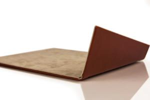 Fold Notepad  Cognac