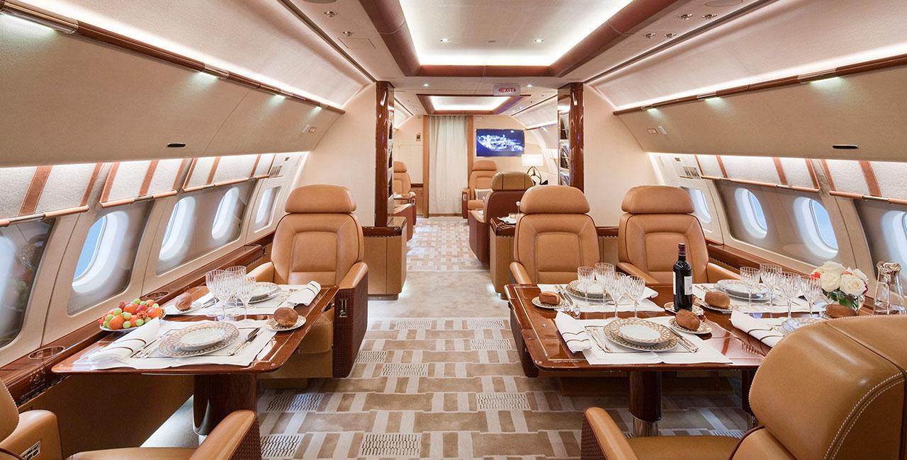 Airbus 319 Acropolis Private Aircraft Design by: Alberto Pinto Interior Design