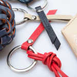 Leather keyrings and charms