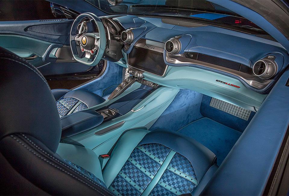 "Ferrari GTC4 Lusso ""Azzurra"" by Garage Italia Custom"